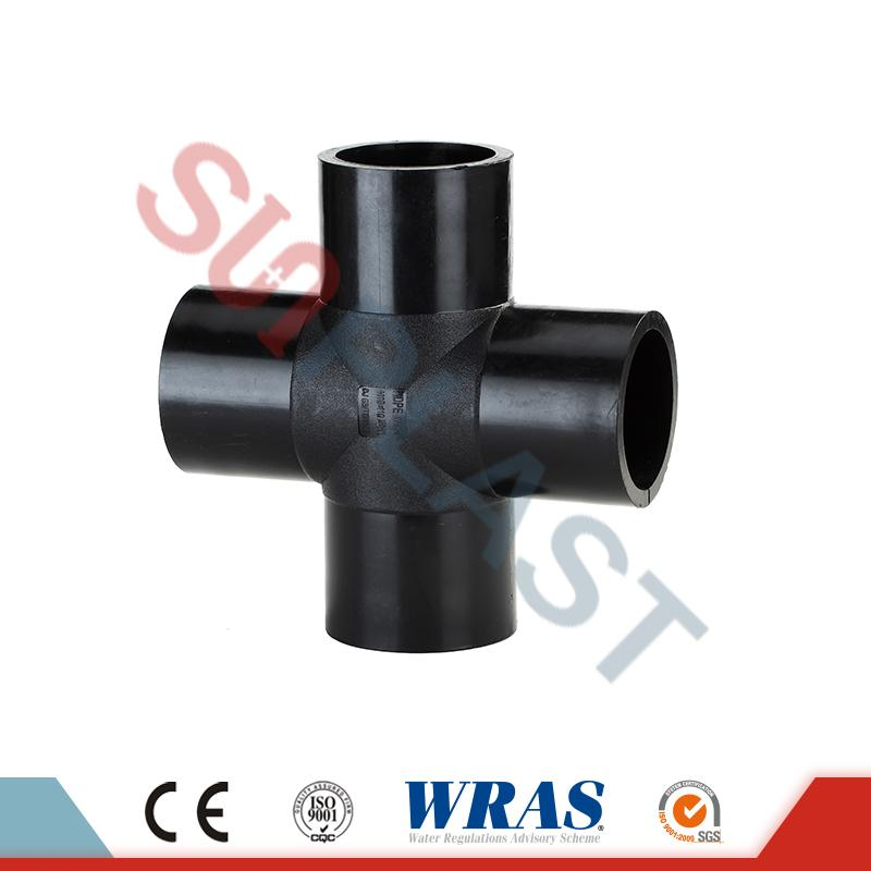 HDPE Butt Fusion Cross Fittings